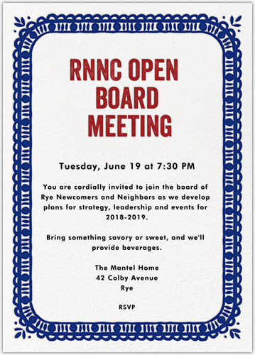 OPEN BOARD MEETING New Date
