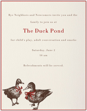 KID-FRIENDLY MORNING AT DUCK POND