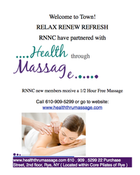 Health Through Massage - COMPLIMENTARY 1/2 Hour Massage!